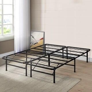 Twin size Bed Frame Platform 14 inch - Crown Comfort