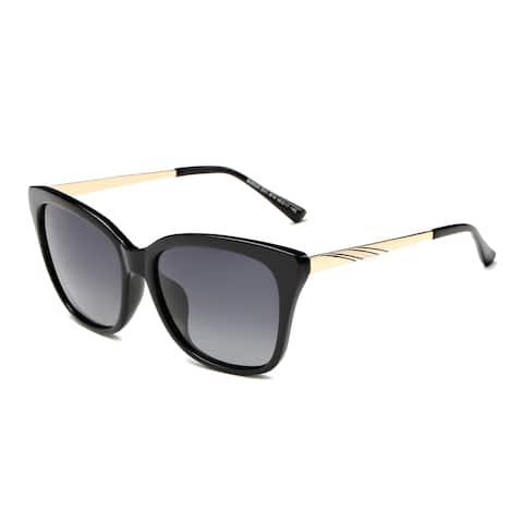Dasein Square Sunglasses with Slim Metal Arms