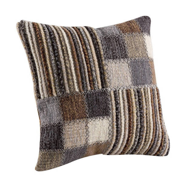 M.A. Trading Hand-woven Khema4 Pillow (India)