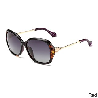 Dasein Butterfly Women's Sunglasses with Slim Metal Arms