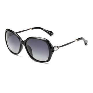 Dasein Butterfly Women's Sunglasses with Slim Metal Arms (2 options available)