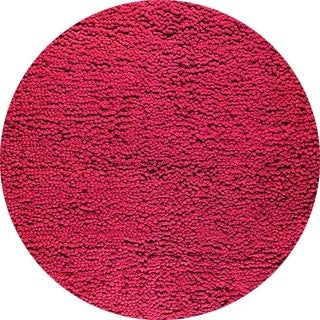 M.A. Trading Hand-woven Berber FD-05 Red Rug (8'3 Round) (India)