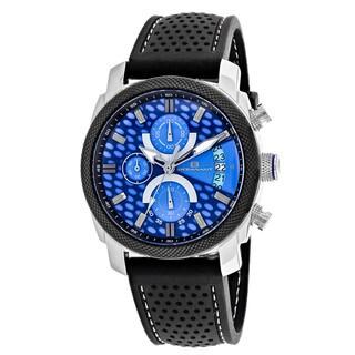 Oceanaut Men's OC2320 Kryptonite Round Black Rubber Strap Watch
