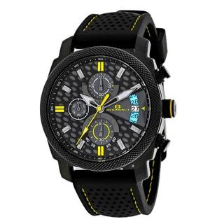 Oceanaut Men's OC2322 Kryptonite Round Black Rubber Strap Watch