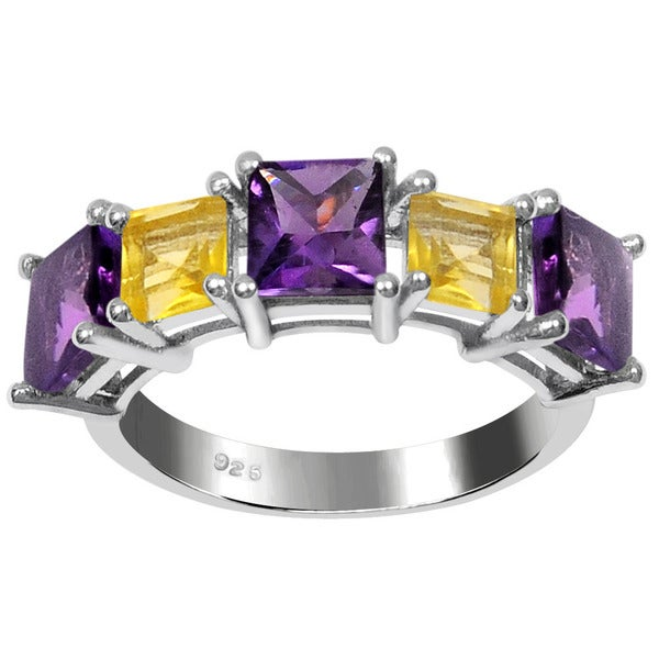 Shop Orchid Jewelry 925 Sterling Silver 2 1 2ct Princess