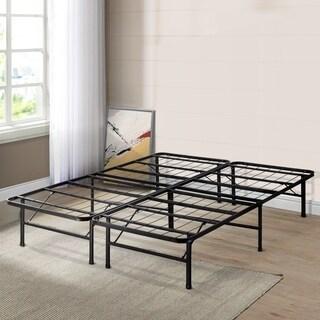 Crown Comfort 14-inch King-size Platform Bed Frame