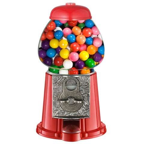 GNP Junior Old Fashioned Red Gumball Machine Toy Bank