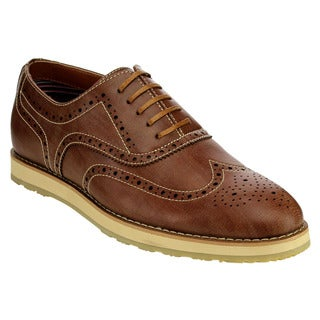 Lace Up Wingtip Oxfords