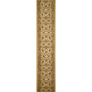 Hand Knotted Agra Design Runner (2'6 x 10')