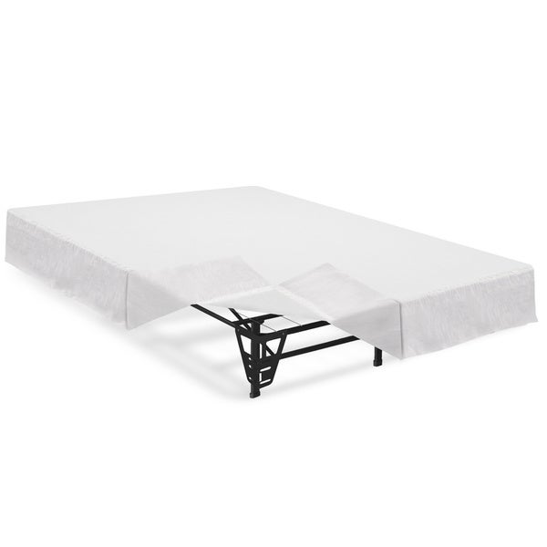 Shop 14 Inch Steel Platform Bed Frame With Brackets And