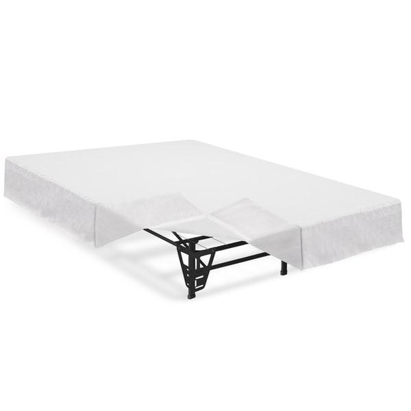 Shop Crown Comfort 14-inch Steel Platform Bed Frame inch with ...