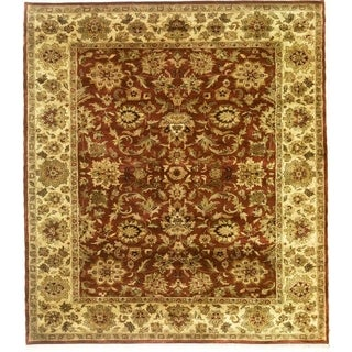Hand Knotted Agra Design Rug (4' x 6')