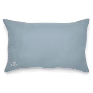 Jill Rosenwald Copley Collection Newport Gate Slate Blue Decorative Pillow