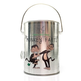 Monkey Farts Soy Tin Can Candle