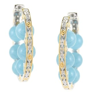 Michael Valitutti Aquamarine Earrings