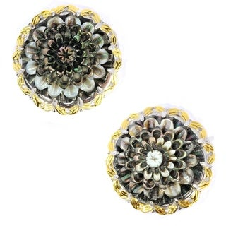 Michael Valitutti Flower Shell Earrings