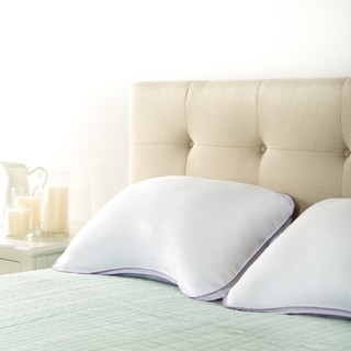 Priage Queen Deluxe Memory Foam Cluster Shoulder Pillows (Set of 2)