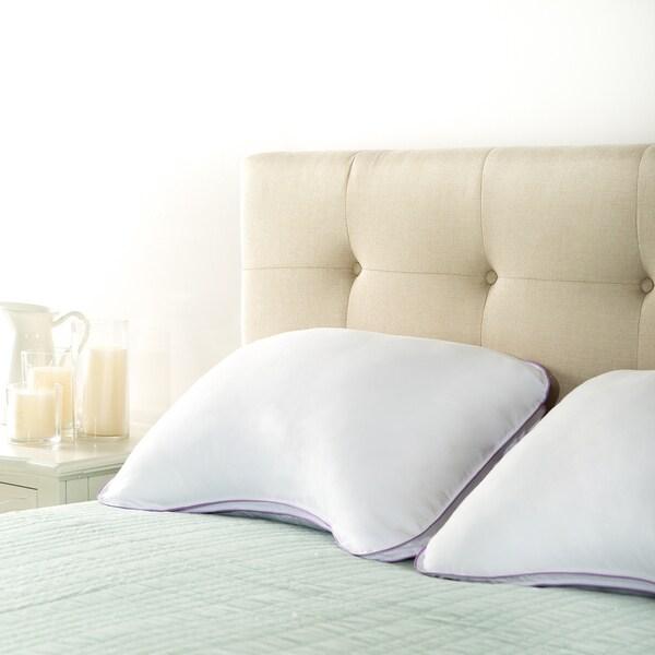 Priage Queen Deluxe Memory Foam Cluster Shoulder Pillows (Set of 2)