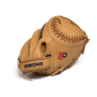 Nokona Legend Pro Fastpitch Catcher Mitt Steerhide Leather 32.50-inch Left Handed Thrower / L-V3250/R