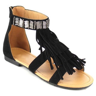 Beston GB73 Women's Tassel Sandals
