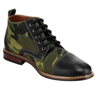 Ferro Aldo MFA-1506013B Men's Combat Ankle Boots