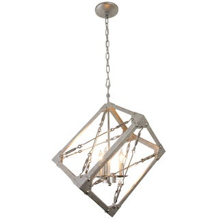 Varaluz Askew 3 light Silver Age Pendant