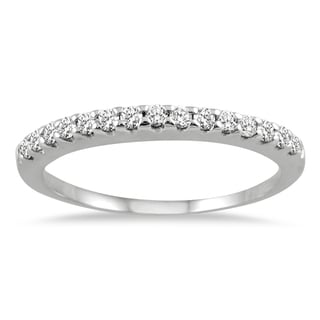 Marquee Jewels 14K White Gold 1/3 Carat TW Diamond Ring