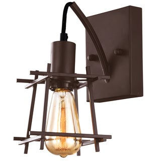 Alternating Current Hashtag 1 light New Bronze Wall Sconce