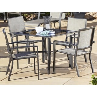 Cosco Outdoor 5-piece Aluminum Patio Dining Set