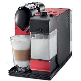 DeLonghi EN520R Lattissima Plus Nespresso Capsule System - Red