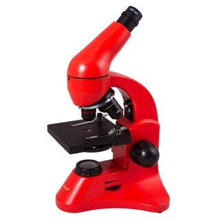 Levenhuk Rainbow 50L PLUS Orange Student Microscope