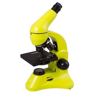 Levenhuk Rainbow 50L PLUS Lime Student Microscope