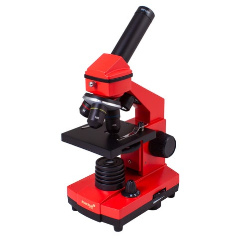 Levenhuk Rainbow 2L PLUS Orange Kids Microscope