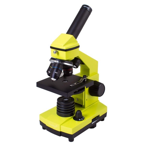 Levenhuk Rainbow 2L PLUS Lime Kids Microscope