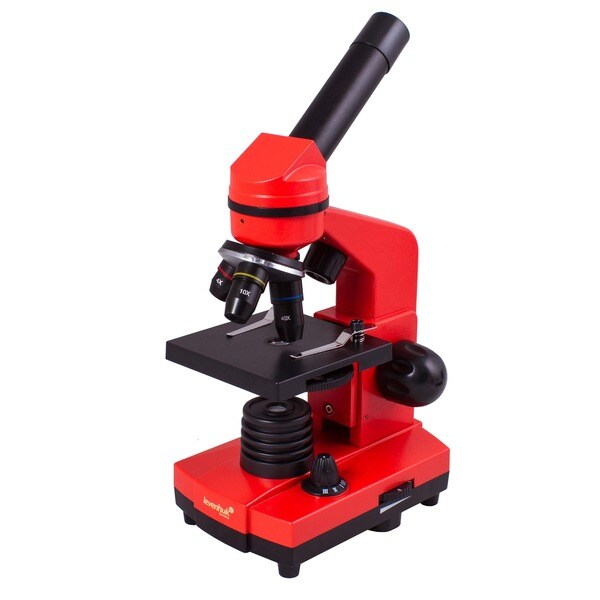 Levenhuk Rainbow 2L Orange Kids Microscope