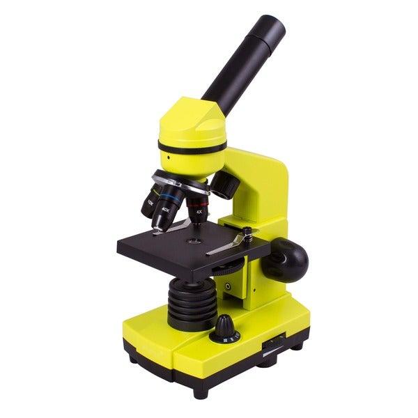Levenhuk Rainbow 2L Lime Kids Microscope
