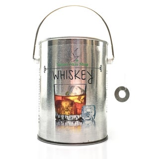 Whiskey Soy Tin Can Candle