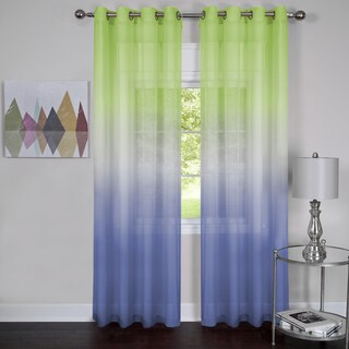 Achim Semi Sheer Ombre Curtain Panel (4 options available)
