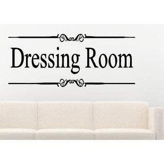 Dressing Room in frame Wall Art Sticker Decal