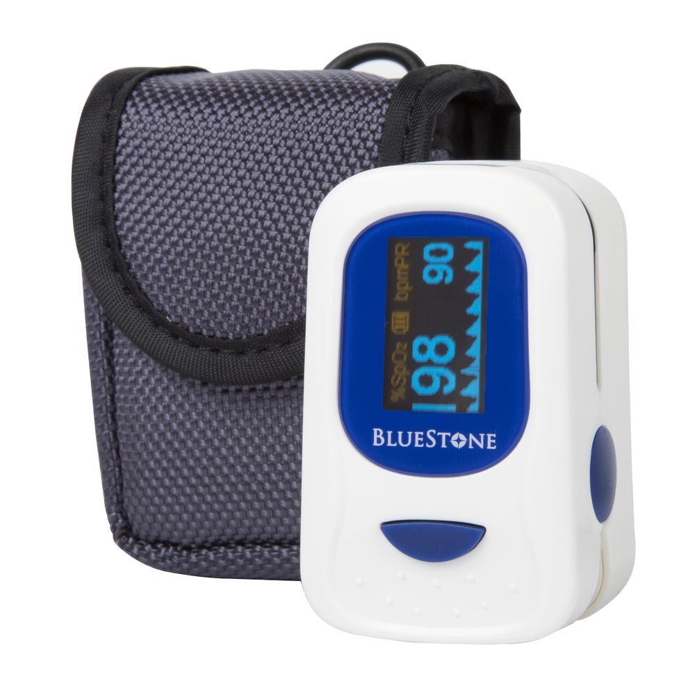 Bluestone Finger Pulse Oximeter and Heart Rate Monitor