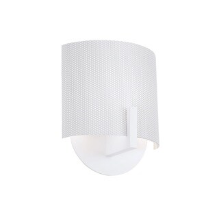 Sonneman Lighting Scudo Satin White Sconce