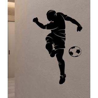 Soccer ball player Wall Art Sticker Decal