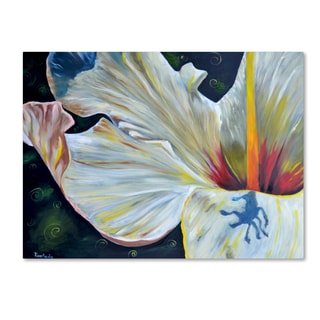 Jennifer Redstreake 'Hibiscus' Canvas Wall Art