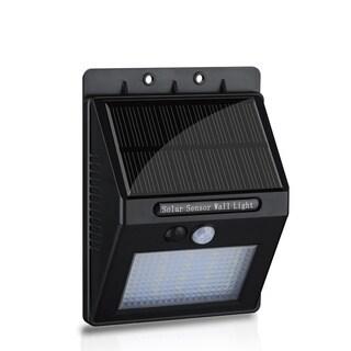 Bright Step Outdoor Waterproof 400 Lumen LED Motion Sensor Solar Wall Lights
