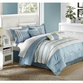 Chic Home Tijuana Blue 11-Piece Bed in a Bag Comforter Set (2 options available)