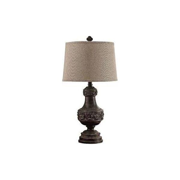 Burnside Copper Gold 38-inch Table Lamp