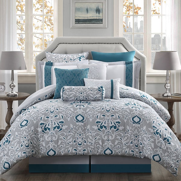 Chloe 10-piece Reversible Comforter Set - Free Shipping Today ...