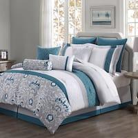 Chloe 10-piece Reversible Comforter Set