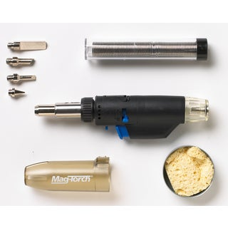 Magna Industries MT 775 C 3-In-1 Micro Butane Torch 7 Piece Kit