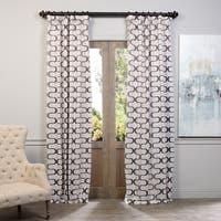Exclusive Fabrics Retro Print Blackout Curtain Panel Pair